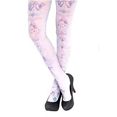Socks/Stockings Gothic Lolita Lolita Lolita Lolita Accessories Stockings Print For Silk