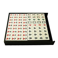 34mm miljø materiale paperback boutique husholdning automatisk grønt mahjong