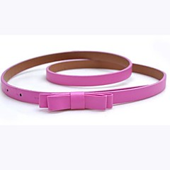 Women's Party Work Active Basic Skinny Belt Waist Belt - Solid Colored