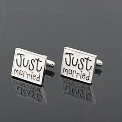 baratos Acessórios para Festas-Botões de Punho Clássico Criativo Casamento Festa Negócio/Cerimônia/Casamento Homens Jóias de fantasia