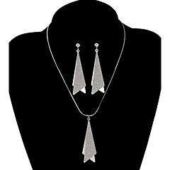 tanie Zestawy biżuterii-Biżuteria-Naszyjniki / Náušnice(Stop)Impreza / Codzienny / Casual Prezenty ślubne