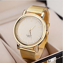 Dames Modieus horloge Polshorloge Dress horloge Kwarts Legering Band Goud