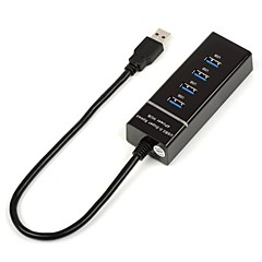 4 USB 3.0 Interface High-Speed Hub with Electric Connector Computer External USB Extender