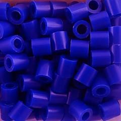 aproximativ 500pcs / sac de 5 mm margele Perler albastre siguranțe margele margele HAMA DIY puzzle eva safty materiale pentru copii