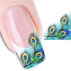 Water Transfer Printing Nail Stickers XF1317
