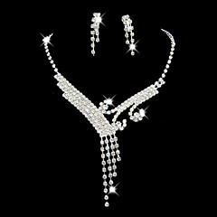 cheap -Women's Rhinestone Costume Jewelry Alloy For Wedding Party Special Occasion Anniversary Birthday Engagement Gift Wedding Gifts