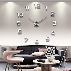 cheap Wall Clocks-Wall Clock,Modern Contemporary Acrylic Indoor