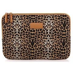 """billiga Laptop Bags-10.1 """"duk leopard laptop cover ärmar shakeproof fodral för samsung eller ipad"""