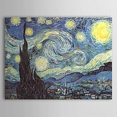 Hånd-malede Kendt Horisontal,Klassisk Traditionel Et Panel Kanvas Hang-Painted Oliemaleri For Hjem Dekoration
