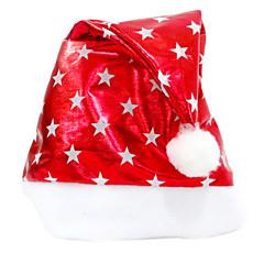 クリスマス パーティーアクセサリー-1ピース/セット ハット 無し レッド