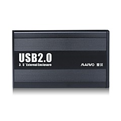"maiwo 3,5 ""sata usb 2.0 externe harde schijf geval hdd behuizing k3502u2s"