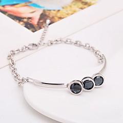 cheap Bracelets-Women's - Chain Personalized White Black Bracelet For Party Anniversary Birthday