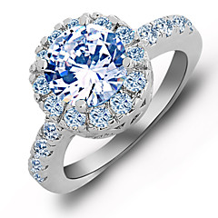 cheap Rings-Women's Ring White Red Blue Stylish Wedding Party / Evening Costume Jewelry