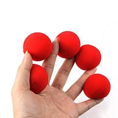 magic rekvisiitta - punainen sieni pallot (5 kpl)