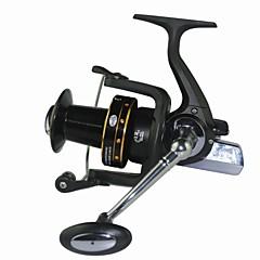 billiga Fiskerullar-Fiskerullar Snurrande hjul 5.2:1 Växlingsförhållande+13 Kullager Hand Orientering utbytbar Sjöfiske Färskvatten Fiske Trolling & Båt Fiske