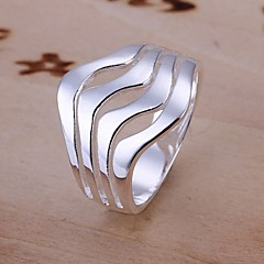Women's Statement Rings Costume Jewelry Sterling Silver Jewelry For Wedding Party Daily Casual