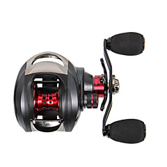 2015 New Trulinoya Right Handle Centrifugal Brake Casting Reel 13+1 Ball Bearing Black Fishing Reel