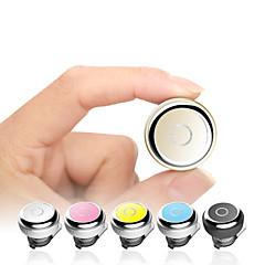 billiga Hörlurar med öronsnäckor-EARBUD Trådlös Hörlurar Plast Körning Hörlur Mini / mikrofon headset
