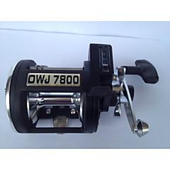גלילי דיג גלילי חכות 4.5:1 3 מיסבים כדוריים ימינים דיג בים - OWJ7800 CJSH
