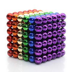 Brinquedos Magnéticos Ímã de Terras Raras Super Forte Bolas magnéticas 216 Peças 5mm Brinquedos Metal Clássico Magnética Quadrada Natal