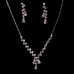 Χαμηλού Κόστους Σετ Κοσμημάτων-Γυναικεία Άλλα Κοσμήματα Σετ Cercei / Κολιέ - Τακτικός Για Γάμου / Πάρτι / Ειδική Περίσταση