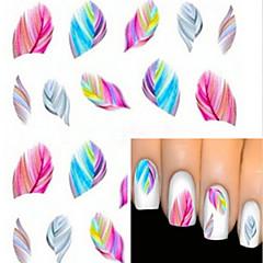 baratos -1 Adesivos para Manicure Artística Transferência de água adesivo Desenho Adorável maquiagem Cosméticos Designs para Manicure