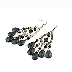 Damen Tropfen-Ohrringe Böhmen-Art Viktorianisch Vintage Modeschmuck Tropfen Schmuck Für Party Alltag