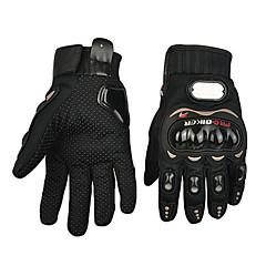 baratos Luvas de Motociclista-Motos luvas Dedo Total Poliuretano/Algodão/Náilon/ABS M/L/XL Vermelho/Preto/Azul