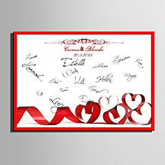 E-HOME® Personalized Signature Canvas Frame-Love  (Includes Frame)