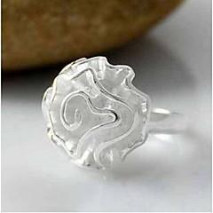 baratos Anéis-Anéis Fashion Pesta Jóias Liga Feminino Anéis Meio Dedo 1conjunto,Tamanho Único Prateado