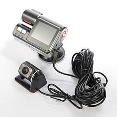2.0 'lcd dual lens auto dvr camera voertuig auto spiegel dvr nacht versie met doos,