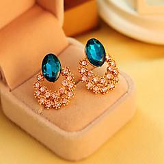 halpa -Kristalli ylellisyyttä koruja jäljitelmä Diamond Kulta Ruudun väri Korut Varten