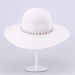 levne Ozdoby do vlasů na večírek-košile klobouky hlavou svatební party elegantní ženský styl