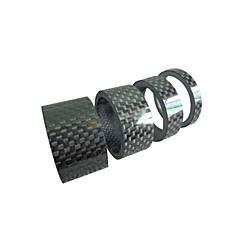 billiga Cykeldelar-Cykelhögtalare BMX / TT / Fastnav Cykel Övrigt Kolfiber - Svart