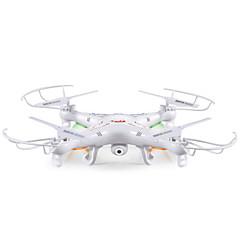 billige Fjernstyrte quadcoptere og multirotorer-RC Drone SYMA X5C 4 Kanaler 6 Akse 2.4G Med HD-kamera 2.0MP 720P Fjernstyrt quadkopter Med kamera Fjernkontroll / Kamera / USB-kabel