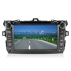 """8 """"2 DIN auto DVD přehrávač pro období 2007-2013 Toyota Corolla s Bluetooth, GPS tv, FM"""