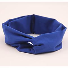 baratos Acessórios para Crianças-Bébé Para Meninas Algodão Acessórios de Cabelo Azul / Rosa claro / Azul Real Tamanho Único / Bandanas