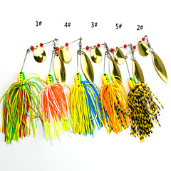 Anmuka Soft Bait / Spinner Baits 16.3 g 5 pcs Spinnerbait lures Sea Fishing / Lure Fishing / General Fishing