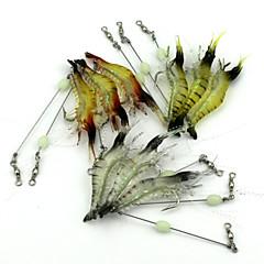 billiga Fiskbeten och flugor-10 st Fiskbete Mjukt bete Mjuk plast Drag-fiske