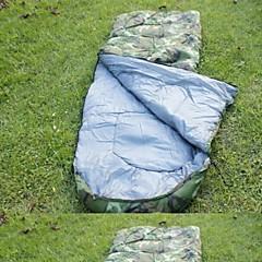 寝袋 封筒型 保温 防湿 防風 防塵 超軽量(UL) 210cmX75cm 狩猟 ビーチ キャンピング 旅行 シングル 幅150 x 長さ200cm
