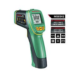 tanie Pomiar temperatury-Mastech ms6541 jednoczesne wyświetlanie typu K i termometr na podczerwień rozdzielczość optyczna: (d: s) = 30: 1