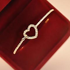 Žene Narukvice s privjeskom Legura imitacija Diamond Ljubav Zlatan Jewelry 1pc