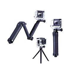 3-Way Adjustable Pivot Arms Hand Grips/Finger Grooves Tripod Adjustable All in One For Action Camera Gopro 6 All Gopro Gopro 5 Gopro 4