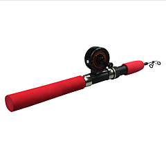 cheap Fishing Rods-Ice Fishing Reel Fishing Rod Ice Fishing Rod Mini Rod / Pen Rod Ice Fishing Rod Plastic Carbon Fibre Glass Fly Fishing Bait Casting Ice