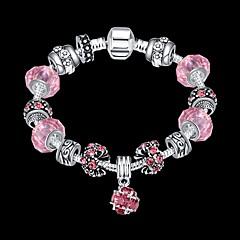Armbanden met ketting en sluiting Uniek ontwerp Modieus Sieraden Roze Sieraden Voor Kerstcadeaus 1 stuks