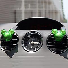 billiga Luftrenare till bilen-2pcs slumpmässig form doft bil vent air freshener utlopps parfym