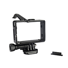 tanie Akcesoria do GoPro-Příslušenství gładka Rama etui Torby Śrubka Wiązanie Wysoka jakość Dla Action Camera Xiaomi Camera Gopro 4 Gopro 3 Gopro 3+ Gopro 2 Sport