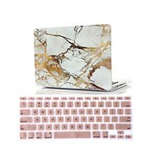 "2 i en marmor gummiert hardt deksel + tastatur deksel for MacBook Air 11 ""retina 13"" / 15 """