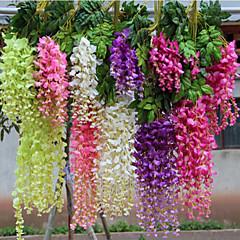 billige Kunstige blomster-Kunstige blomster 1 Gren Enkel Stil Planter Veggblomst