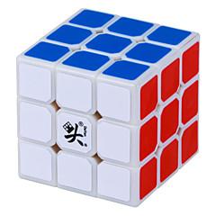 billiga Leksaker och spel-Rubiks kub DaYan 3*3*3 Mjuk hastighetskub Magiska kuber Pusselkub professionell nivå Hastighet Present Klassisk & Tidlös Flickor